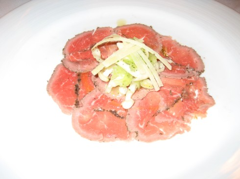 Lamb Carpaccio was sooo good, we want to have it again!!