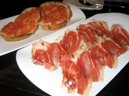 Iberico Bellota. Iberico ham with crunchy toast was one of my favorite!
